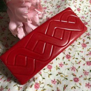 Vintage red French barrette